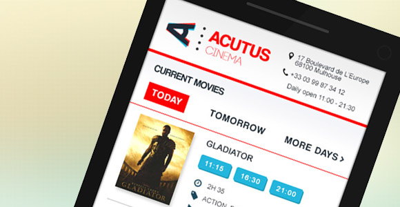 Read more about the article Acutus cinema – Enjoying the movies