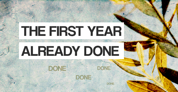 Read more about the article First year, check!